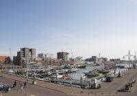 de Havenmeester gezien vanaf de haven in Scheveningen