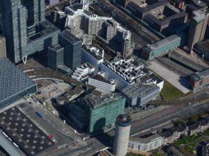 Luchtfoto CS Oost