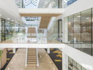 atrium kantoor abnamro door TenW architecten