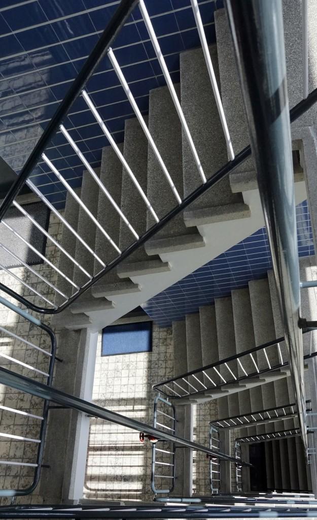 trappenhuis Chinese muur Den Haag