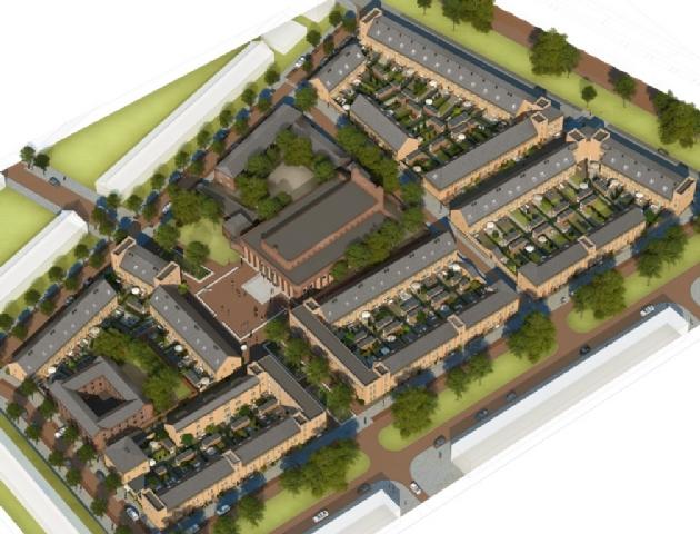 Kloosterbuuren Moerwijk door Hans van der Heijden