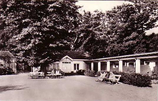 binnenplaats villa Ockenburgh