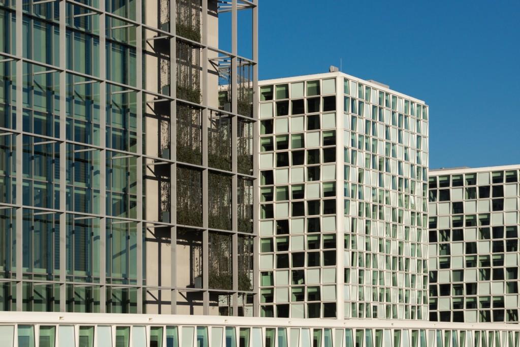 architectuur gevel ICC