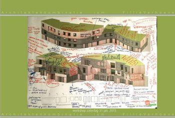 schetsen plan Groene Mient