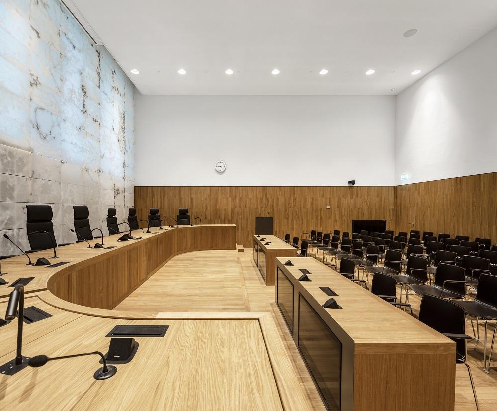 Hoge Raad zittingszaal