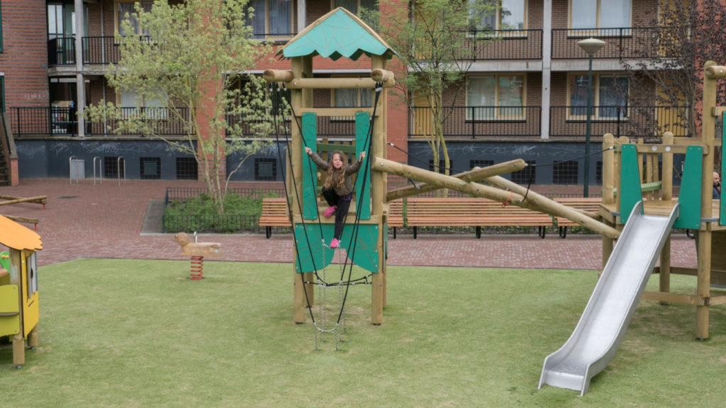nieuwe speeltuin Slachthuisterrein Laak