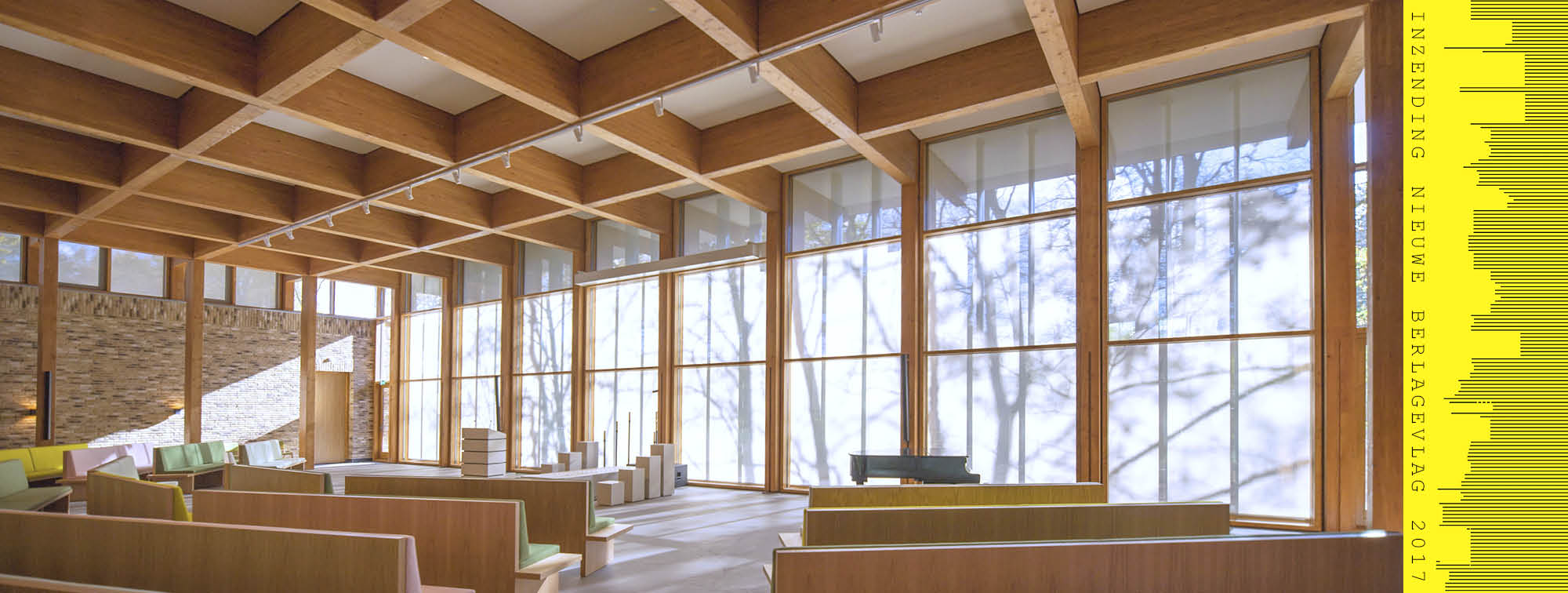 aula uitvaartcentrum Ockenburgh ontworpen door KOW