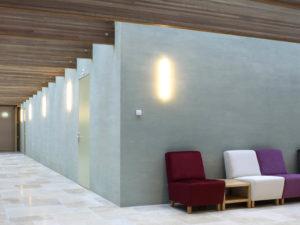 interieur verslavingskliniek ontworpen door Queeste