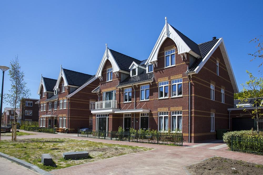 woningen in vroondaal in de stijl van het statenkwartier in Den Haag