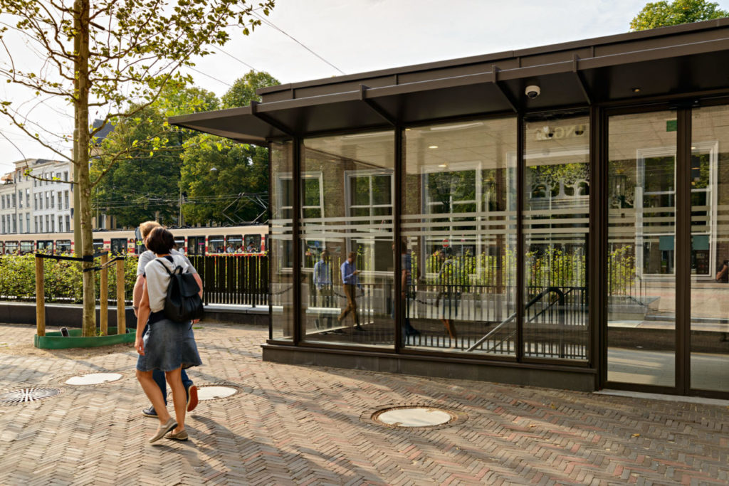 paviljoen parkeergarage tournooiveld Den Haag