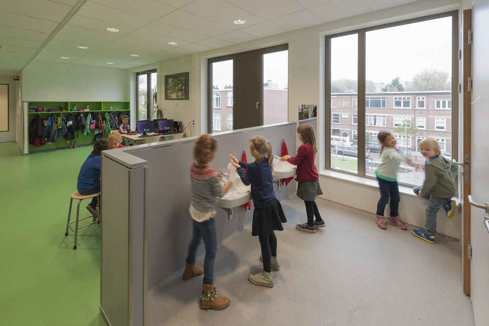 Interieur montessorischool door Atelier PRO architekten