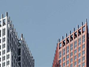 hoogbouw ministeries aan de turfmarkt den haag door Hans Kollhoff architekten