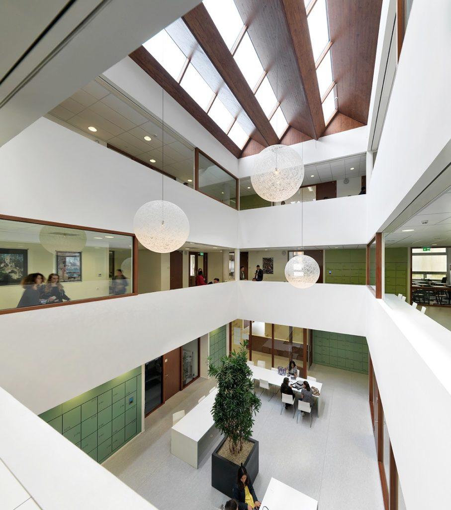interieur lyceum Zandvliet Den Haag