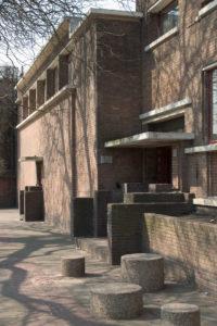 gevel in Nieuwe Haagse School stijl Foto Peter de Ruig