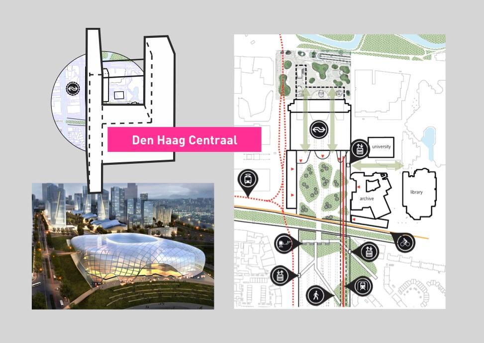 ontwerp den haag centraal busplatform wordt volwaardige entree