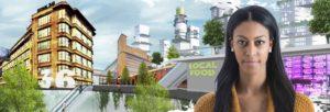 knooppunt voor mobiliteit en maakindustrie in de Binckhorst