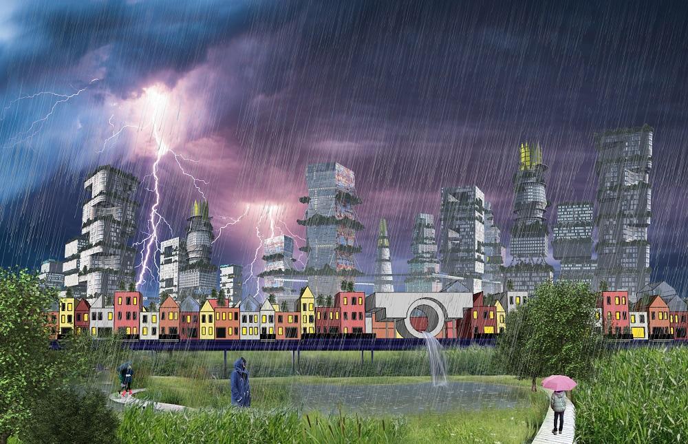 voorstel schenkpark in toekomstige wijk CID voor klimaatadaptatie