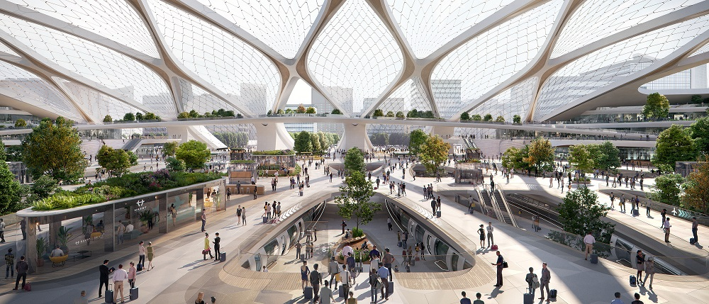 stad van de toekomst hyperloop