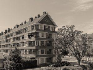 Nieuwe Haagse School architectuur Laan van Meerdervoort