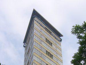 toren van oud topverdiepingen