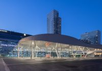 busplatform Den haag centraal architectuur