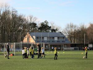 nieuwclubhuis voetbalvereniging