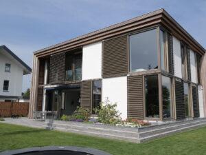 haaghuis, duurzame woning met lamellen tegen de zon