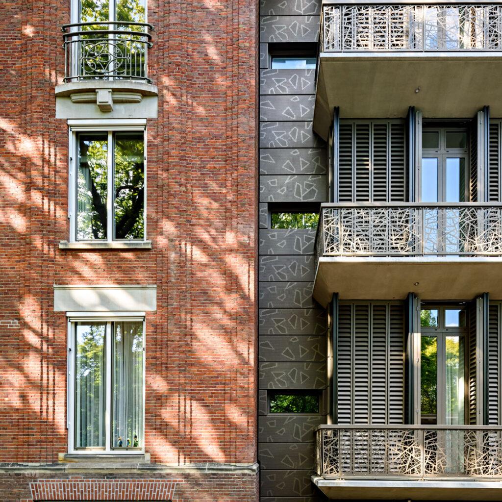 aansluiting oud en nieuw villa carnegie