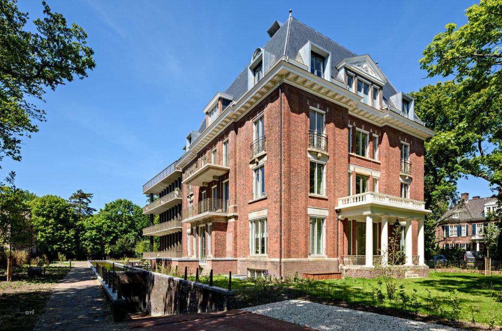 historische villa carnegie met uitbreiding
