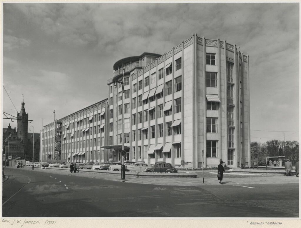 oorspronkelijk kantoor aramco uit 1956 wederopbouw architectuur