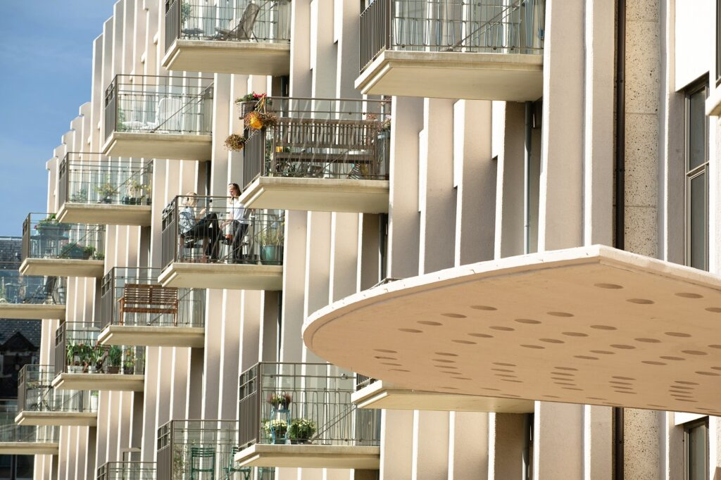 nieuwe balkons