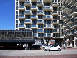 appartementen neherkade vanaf parkeerdek